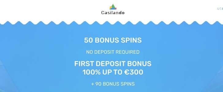 Casilando Casino Bonus Codes Exclusive 50 Free Spins No Deposit