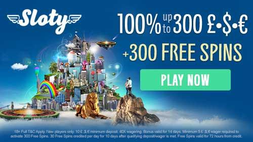 sloty free spins bonus codes