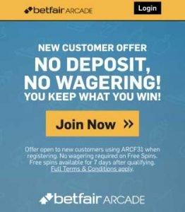 betfair no deposit bonus code