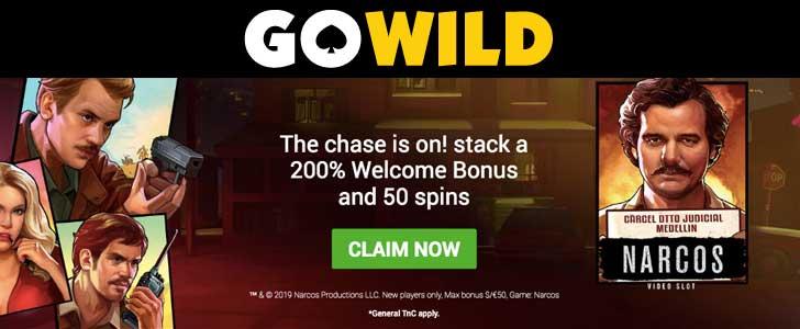 gowild casino bonus codes