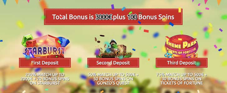 spin station welcome bonus
