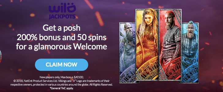 wild jackpots casino bonus codes