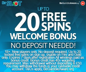 dr slot no deposit bonus codes