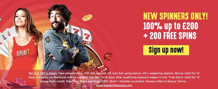 spinit casino bonus codes