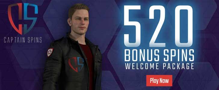 captain spins bonus code uk