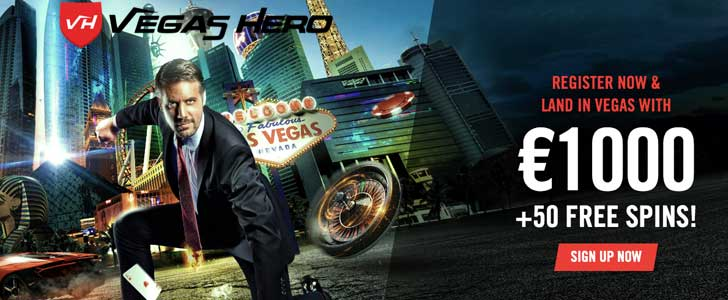 vegas hero bonus codes