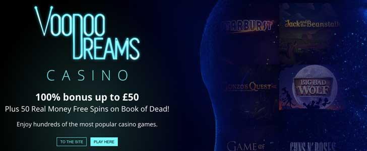 voodoo dreams bonus codes uk