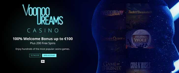 voodoo dreams casino bonus codes